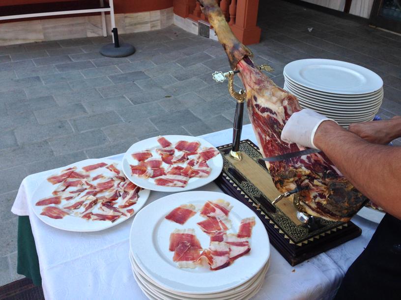 Cenas Y Eventos De Empresa En Granada Jamon