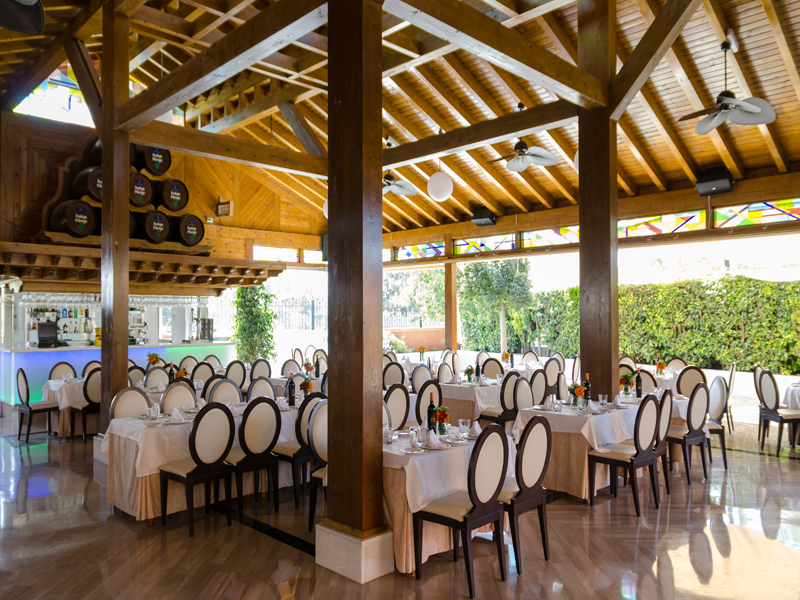 Salon La Casona Restaurant Granada 1