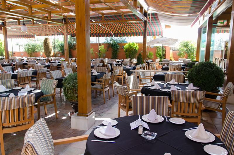 Terraza Restaurante El Guerra Granada Bodas Y Comidas De Empresa