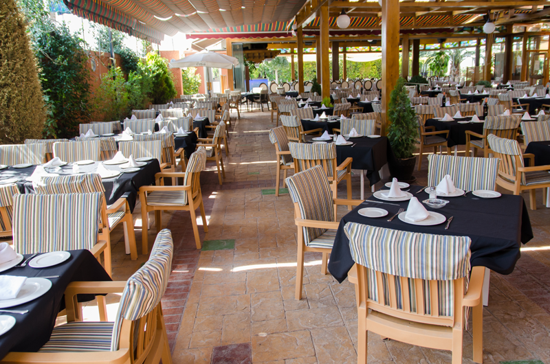 Terraza Restaurante El Guerra Granada 4